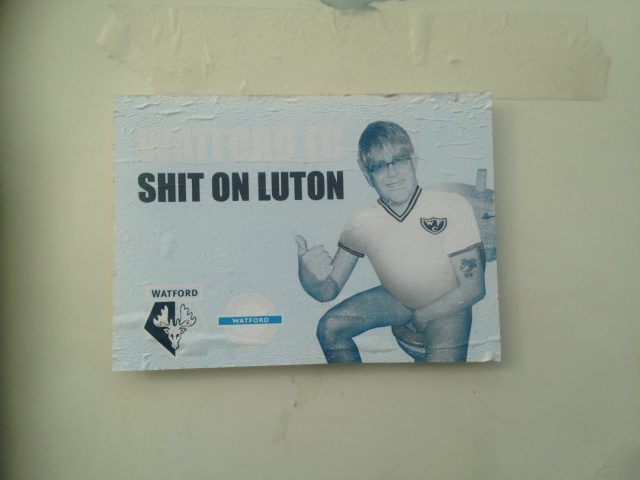 Shit on Luton