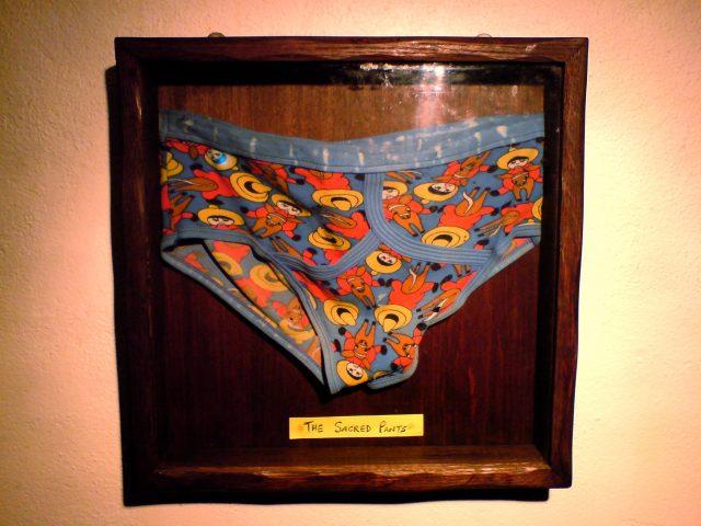 The Sacred Pants Wrong Way UK
